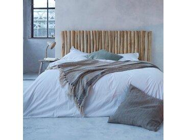 Tête de lit en bois de teck flotté 180 River