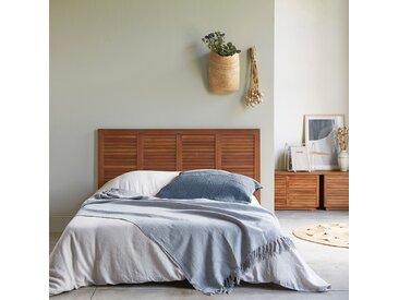 Tête de lit en bois d'acajou 160 Loggia
