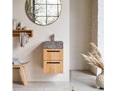 Meuble en bois de teck avec vasque 40 Line
