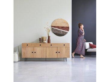 Buffet en bois de chêne 185 Jeanne