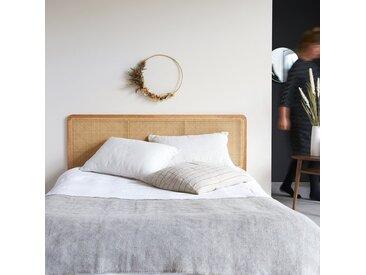 Tête de lit en tiges de rotin 160 Adèle