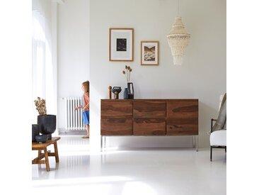 Commode en bois de palissandre 6 tiroirs Nova