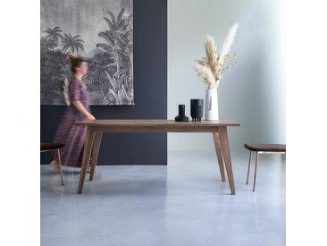 Table en bois de noyer 180x90 Esmée