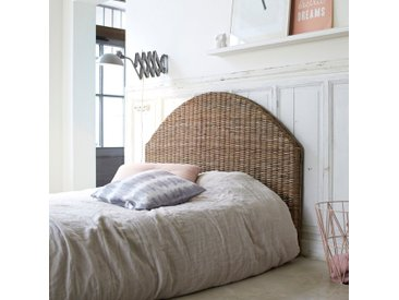 Tête de lit en en tige de kubu 160 Louison