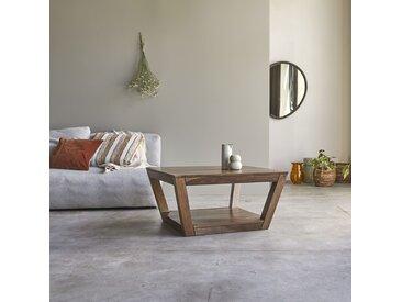 Table basse en bois de palissandre 80x80 Villa