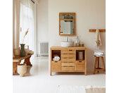 Meuble Salle de bain en en bois de chêne 100 Serena