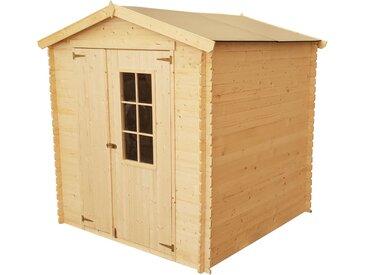 Abri en bois CALYPSO + Toit en polypropylène - 4 m²