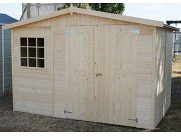 Chalet en bois - Panneaux 12 mm - 6m²