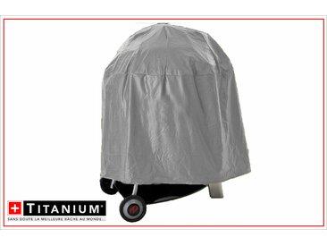 Housse de protection indéchirable pour barbecue rond TITANIUM® - 65 x 75 cm