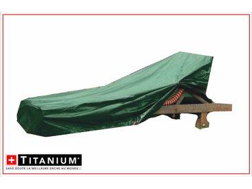 Housse de protection indéchirable pour chaise longue - VERT - 90g/m²