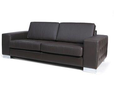 Canapé en cuir - 3 places POSITANO Expresso