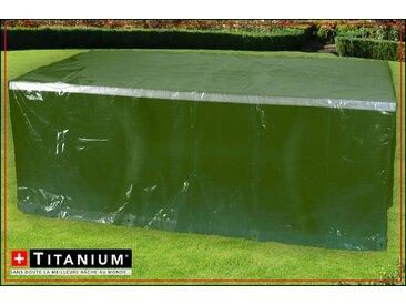 Housse de protection indéchirable pour table rectangle - VERT- 90g/m² - 250 x 200 cm