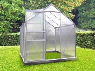 Serre polycarbonate 66 + Base - 3,60 m²