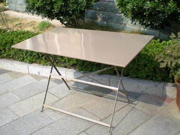 Table pliante CYTADINE Cappuccino
