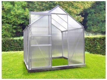 Serre polycarbonate 86 + Base - 4,75 m²