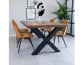 Newark Table À Manger Industrielle 200x100 cm