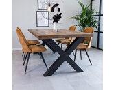 Newark Table À Manger Industrielle 180x100 cm