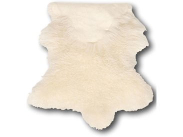 Peau De Mouton Blanc 100 x 70 cm Frisé
