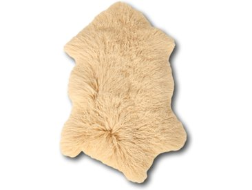 Peau De Mouton Crème 100 x 70 cm Frisé