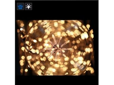 Guirlande électrique 200 ampoules blanches