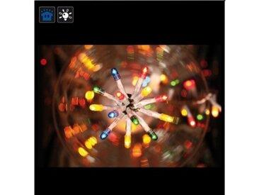 Guirlande électrique 200 ampoules multicolores