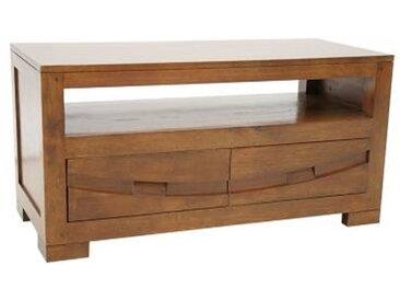 Meuble TV 2 tiroirs Panama - Camif