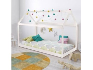 Lit cabane  pour enfant Wallis - Camif