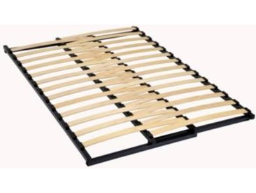 Sommier cadre extensible 27 lattes, 53mm - Camif