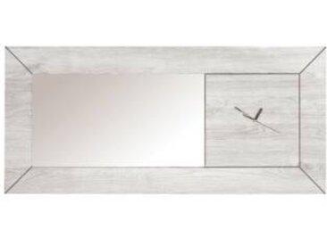 Miroir-horloge Silva - Camif