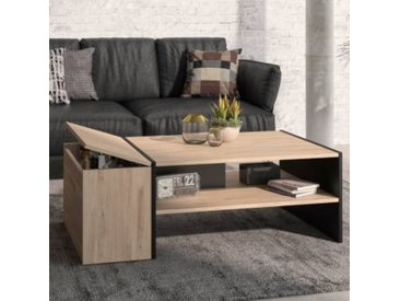 Table Basse Gasper - Coffre pour bouteilles - Made In France - Camif