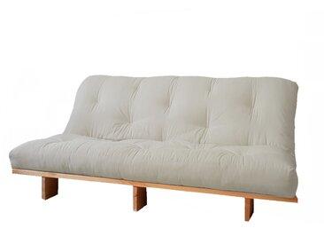 Matelas Futon Traditionnel - Revêtement 70% lin 30% coton - 12 cm