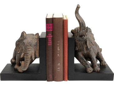 Serre-livres éléphants 42cm set de 2 Kare Design