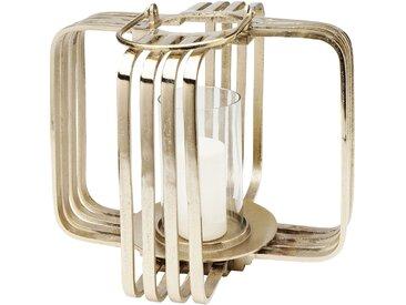 Lanterne Cage dorée 41cm Kare Design
