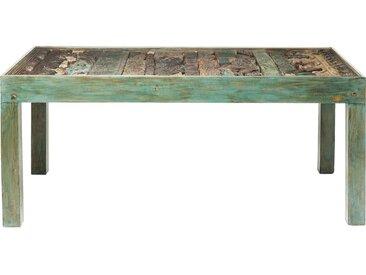 Table en bois Shanti Puzzle Surprise 180x90cm Kare Design