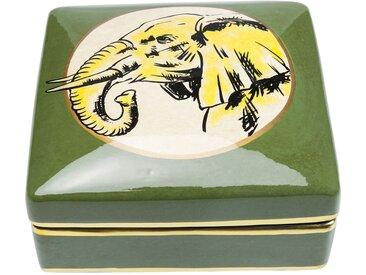 Boîte carrée éléphant 18x18cm Kare Design