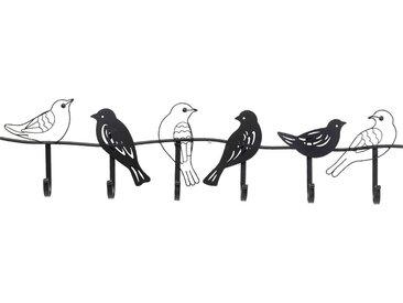 Portemanteau mural oiseaux 85cm Kare Design