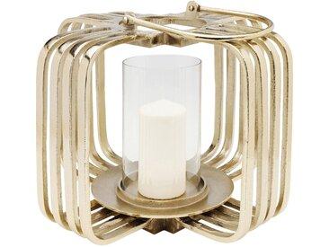 Lanterne Cage dorée 32cm Kare Design
