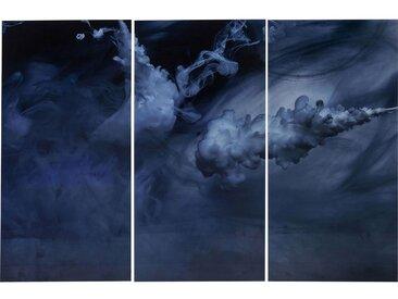 Tableaux en verre Triptychon Clouds 160x240cm set de 3 Kare Design