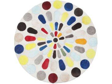 Tapis rond Campo multicolore 150cm Kare Design
