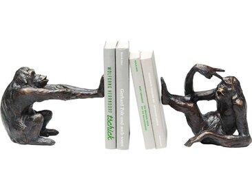 Serre-livres singes set de 2 Kare Design