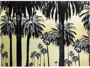 Tableau en verre palmiers 120x180cm Kare Design
