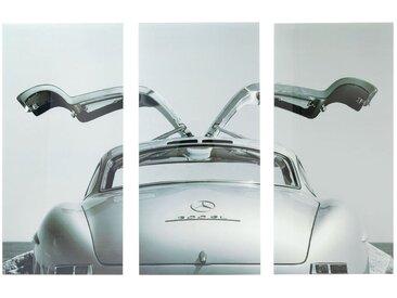 Tableaux en verre Triptychon voiture 160x240cm Kare Design