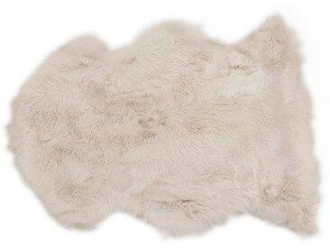 Peau de mouton Heidi grise 85x60cm Kare Design