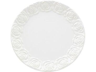 Plat Roses blanc 35cm Kare Design