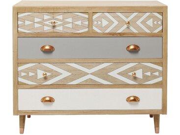 Commode Oase 5 tiroirs 90cm Kare Design