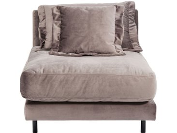 Assise Lullaby velours taupe Kare Design