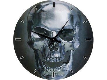 Horloge murale crâne 80cm Kare Design