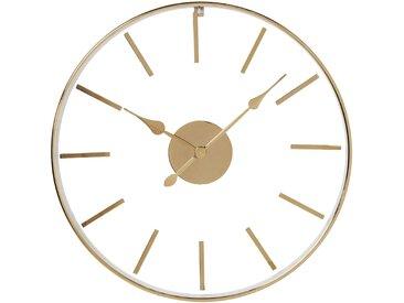Horloge murale Artist or rose 46cm Kare Design