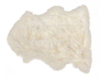 Peau de mouton Heidi blanche 85x60cm Kare Design