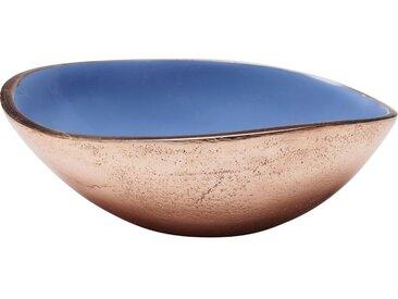 Coupe Olala cuivre et bleu 10cm Kare Design